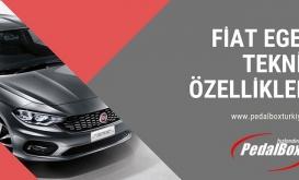 Fiat Egea Teknik Özellikleri