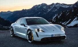 Porsche'nin İlk Tamamen Elektrikli Spor Otomobili Taycan!